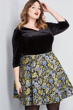 a349bd37eeb Plus Size Black Velvet Dresses – Black Velvet Dresses in Plus Sizes