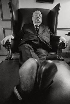 Ara Güler ~ Alfred Hitchcock
