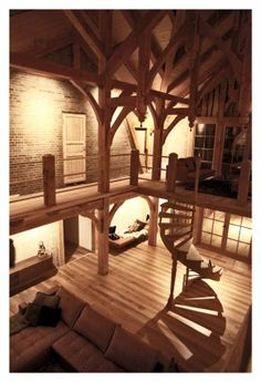 Jim Lyngvild/Denmark/Ravnsborg... A Beautiful viking fortress style house, not sure he used Reclaimed Wood though. But the design is gorgeous and would be stunning in Reclaimed materials.