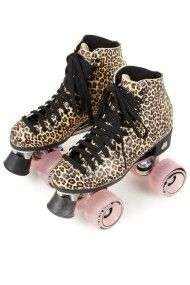 These Are Amazing Leopard Print Shoes Roller Skates Leopard Fashion