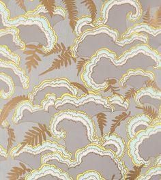 makelike (a shop) Lush Wallpaper : Light Grey