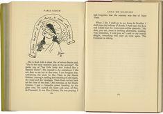 Cocteau - Quatre dessins d'Anna de Noailles accompagnent l'article qui lui est intégralement consacré