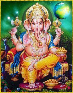 Lord Ganesha Ganesh Pic, Ganesh Lord, Ganesha Tattoo, Ganesha Art, Shri Hanuman, Shree Ganesh, Krishna, Ganesha Pictures, Ganesh Images