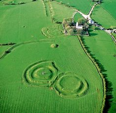 Ireland - Hill of Tara, near Navan, County Meath.  A destination of wealth in culture and Irish history.
