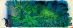 Background painting from 'The Jungle Book'