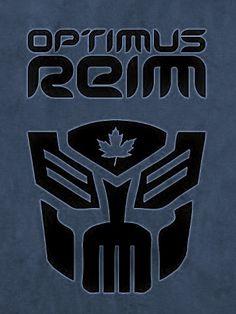 For Leafs Nation: 'Optimus Reim' Toronto Maple Leafs, Custom Clothes, Chevrolet Logo, Nhl, Transformers, Hockey, Canada, Leaves, Sports