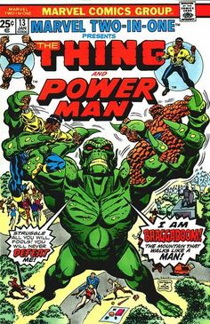 Marvel Two-in-One # 13 by Ron Wilson & Frank Giacoia