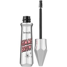 Benefit Gimme Brow Volumizing Eyebrow Gel ($26) ❤ liked on Polyvore featuring beauty products, makeup, eye makeup, brow makeup, eyebrow cosmetics, eye brow makeup and eyebrow makeup