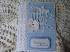 Sympathy Card With Sympathy Loss of a Loved One by CardsbyEileen