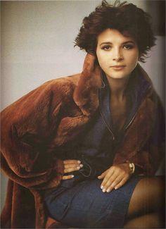 Juliette Binoche, Vogue Paris, 1985