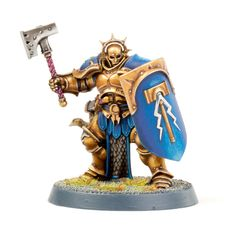Tutorial: How to Paint Age of Sigmar Stormcast Eternal Liberator - Tale of Painters