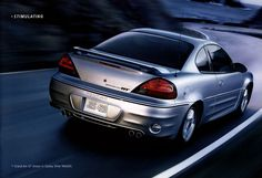 """2004 Pontiac Grand Am GT Coupe in """"Galaxy Silver Metallic""""  my current car"""