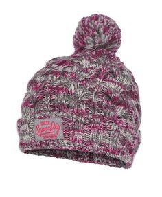 243cad486d3 Superdry Colour Splash Beanie Scarf Hat