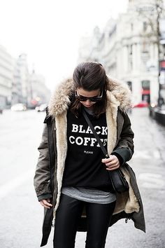 Sweatshirt-Leather_Pants-Parka_Kookai-Style-Chained_Boots-Collage_Vintage-Street_Style-Outfit-25 | Flickr - Photo Sharing!