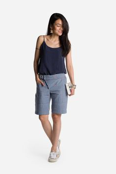 The Bermuda Shorts   Mystic Mountain from MATTER - Ethical Sustainable Fashion