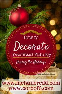 Have you lost your joy this season? Be encouraged and know that God's love can help you decorate your heart with joy! All Things Christmas, Christmas Bulbs, Christmas Crafts, Christmas Decorations, Holiday Decor, Holiday Ideas, Christmas Ideas, Merry Christmas, True Meaning Of Christmas