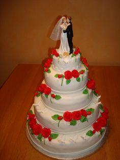 Bruidstaart voor Thijs en Kelly