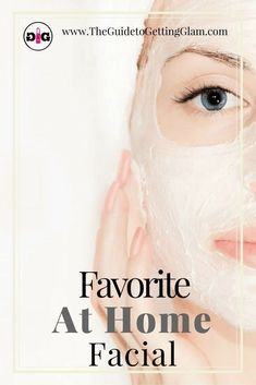 The best at-home facial. Learn the secret to smooth skin... a makeup artist's recommendation for the best at-home facial. Click to read the steps for your DIY facial.  #skincare #skincaretips #athomefacial