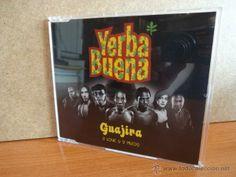 YERBA BUENA. GUAJIRA. CD MAXI SINGLE / 4 TEMAS / FUN MACHINE 2003. CALIDAD LUJO.