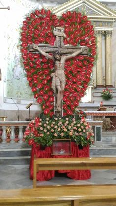 il crocifisso a Lucca Sicula