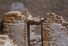 Escenografía realizada para figuras de 12cm  Figuras: Daniel Alcántara                                                                      ...