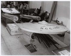 Star Trek Starship Enterprise Model Restoration