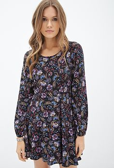 Floral Fit & Flare Dress | FOREVER 21 - 2000059726