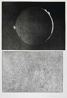Vija Celmins, Jupiter Moon - Constellation, 1983