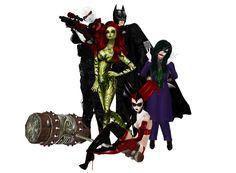 On IMVU Nowhere Batman and villains