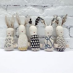 regrammed from @minimioche - you can purchase these adorable bunnies that we collaborated with @ouistitine over at the @minimioche shops and online