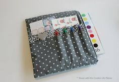 Large Planner Pouch FREE Planner Clip  by NaptimeCrazeDesigns