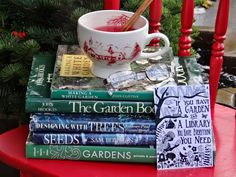If you have a garden and a library you have everything you need ♥...a quiet life...: garden advent dec 10th~