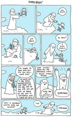 laina: postalofficepunk: lezly-odair: How I feel about religion. God should be presented as what he is, love and kindness. Stop using his name to justify your racism, homophobia and sexism I'm not religious, but this comic is flipping adorable. Rage Comic, Faith In Humanity, Tell The Truth, How I Feel, Make Me Smile, Qoutes, Quotations, Have Fun, Hilarious