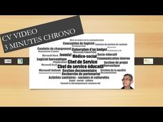 CV vidéo 3 minutes chrono  #chrono #minutes #video