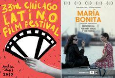 'María bonita', de Amanda de la Rosa, han sido seleccionados por el Chicago Latino Film Festival. Del 20 de abril al 4 de mayo. ¡Felicidades! #Digital104FilmDistribution