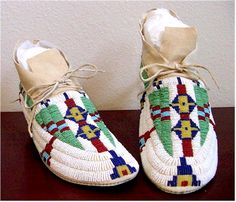Beaded Moccasins                                                                                                                                                                                 More