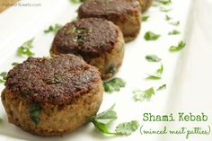 A popular melt-in-your-mouth minced meat kebab - from myheartbeets.com  #21dsd #lamb