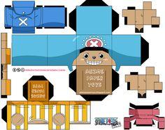 TONY TONY CHOPPER 2 AÑOS DESPUES (ONE PIECE) by animepapertoys, via Flickr