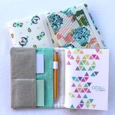 Quilter's Planner Mini Cover by Angela Bowman - The Quilter's Planner