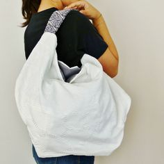 vegan suede hobo bag slouchy handbag embroidered purse Oversized vegan  Women s handmade handbags 280b0dda74c5b