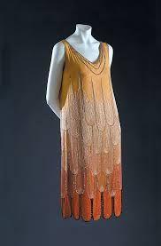 paul poiret dress, early 1920's
