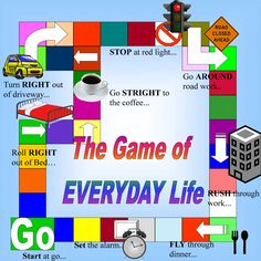 Board game printies photo: The Game of EVERYDAY Life! Life.gif