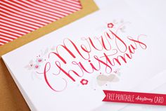 lemon squeezy: Day 13: Free Christmas Card Download