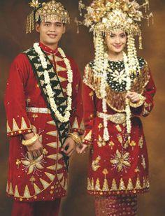 pakaian adat Bangka Belitung - pakaian tradisional Bangka Belitung babel
