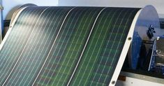 The Roll-Array is a flexible and easy-to-transport solar panel that rolls out like a carpet. Solar Energy Panels, Best Solar Panels, Colorado Springs, Solar Shingles, Solar Roof Tiles, Solar House, Solar Panel Installation, Solar Energy System, New Energy