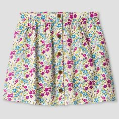 Toddler Girls' A Line Skirt Genuine Kids™ from OshKosh® - Almond Cream : Target