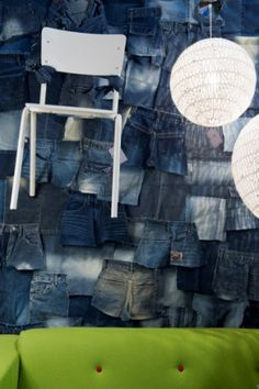 Recycled jeans- Love it!