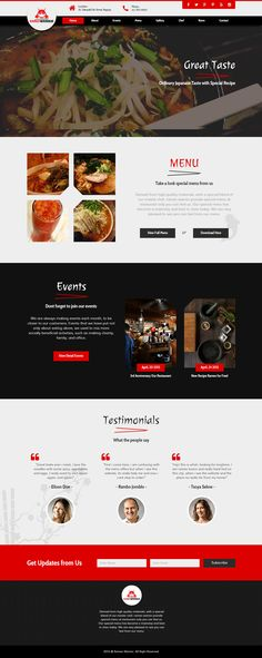 Ramen Warrior - Asian restaurant Muse template by .This template made with Adobe Muse. Muse Website, Food Website, Asian Food Delivery, Restaurant Website Design, Food Web Design, Chinese Restaurant, Restaurant Restaurant, Asian Restaurants, Asian Design
