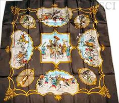 """Les Chevaux des Moghols (from <a href=""""http://piwigo.hermesscarf.com/picture?/2868/category/Home"""">HSCI Hermes Scarf Photo Catalogue</a>)"""
