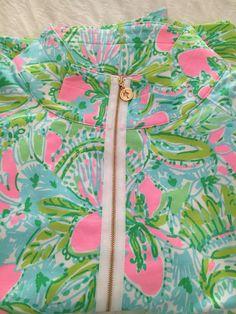 Lilly Pulitzer  Multi Coconut Jungle Skipper Popover